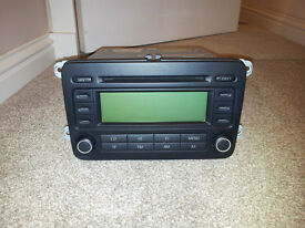 VW RCD300 CAR STEREO RADIO CD PLAYER GOLF JETTA 5 PASSAT CADDDY + CODE 1K0035186