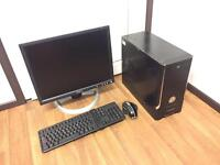 Complete Computer PC Setup with Monitor, Mouse, Keyboard *BACK TO SCHOOL
