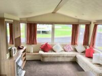 static caravan for sale with central heating in county durham on 5 star witton castle country park.