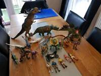 Jurassic Park Dinosaurs and Figures - Kenner
