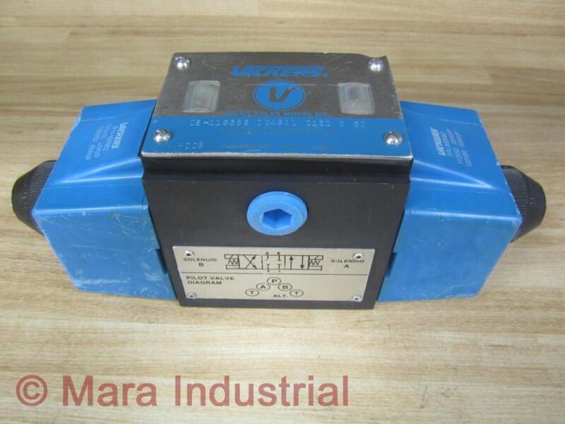 Vickers 02-119589 Directional Control Valve DG4S4L012CB60