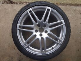 "Genuine Audi 19"" A4, A5, A6 S Line. Alloy wheels. 255/35/19."