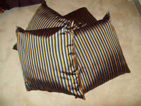 5 Indian Pure Silk Cushions