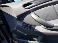 Bmw x5 3.o sport grey front rear parking sensord sat nav leather auto light's auto wipers