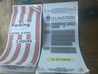 Arsenal fans. Parking Vouchers for URGENT Sale**********