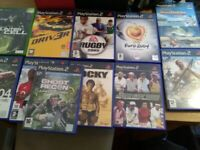 PlayStation 2 i console ncluding 14 games