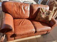Leather Sofa 2-seater