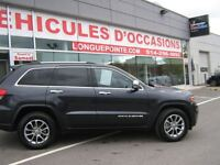 2014 Jeep Grand Cherokee Limited 4x4, Navigation , Toit ouvrant,