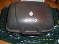 FS: portable barbecue - like new condition,also metal plates/bar