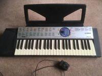 Yamaha PSR-125 49 key keyboard in good condition