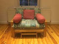 Single Seat Sofa Bed (Used). Excellent Condition.