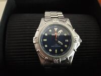 Mens vintage 39mm face divers style works perfectly £30