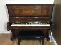 G Ajello & Sons Upright Piano in Full Working Condition - Best Beginners - FREE LOCAL DELIVERY