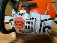 Stihl ms 231c chain saw