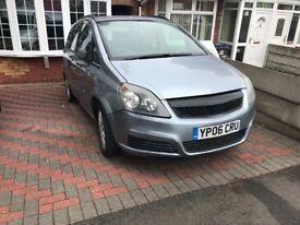 Vauxhall zafira 1.8 lpg