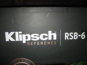 "Klipsch Reference 210 Watt Sound Bar with 6.5"" Wireless Subwoofer. Bluetooth. HDMI. Toslink. 4K UHD. Powerful Bass. NEW"