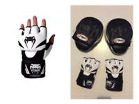 Venum Mma Gloves also comes with pads Large great quality and fantastic condition millbrook oos