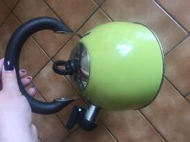 Camping whistle kettle