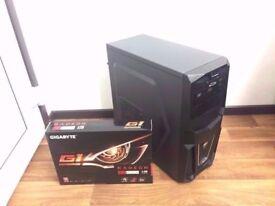 Ultimate Custom Gaming Computer PC (FX 8350 4GHz 8 Core, 32GB RAM, 500GB HD, Blu-ray, RX 480 4GB)