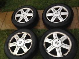 "16"" GENUINE RENAULT ALLOY WHEEL AND TYRES"