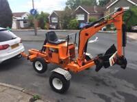 Powerfab 125wt Mini digger/excavator