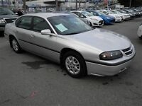 2004 Chevrolet Impala No Accidents Automatic Sedan
