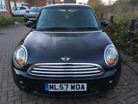 Smart black Mini One 2007 - £2,500