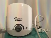 Tommee Tippee bottle warmer - used once. New condition.