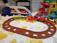 Toys - Happyland, Little People, toolbench