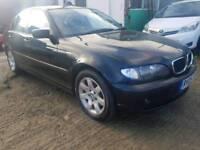BMW 320D SE SALOON 2L DIESELS WITH MOT