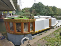 30 foot Live-aboard canal/river cruiser