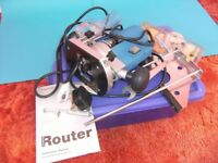 POWERBASE Router. Never used. Excellent value at £55.