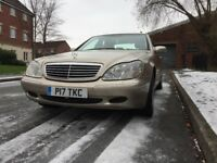 Mercedes Benz S Class 320: Petrol
