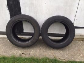 Mercedes Benz E-Class W211 Tyres 225/55R16 - £10