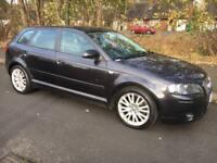 Audi A3 2.0 T FSI Sportback 2008 08 Grey Sat Nav *2.0 turbo fsi cupra r s line * PART EX WELCOME*