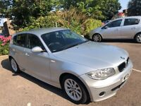BMW 1 Series 2005 Silver 5 Doors Full Service History