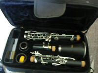 As new clarinet outfit -excellent Windsor with all accessories