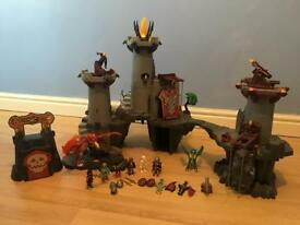 Playmobil knights castle with figures