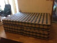 Double bed with under 4 Drwer Stroge.