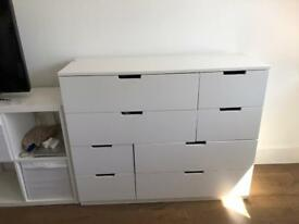 White Ikea Chest of Drawers