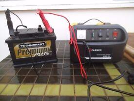 car battery charger - car battery - jump leads - bargain cheap car parts joblot