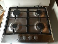 FOR SALE - 4-ring hob stainless + Diplomat stainless steel oven/grill including stainless steel hood