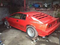 1982 LOTUS ESPRIT TURBO Barn find S3