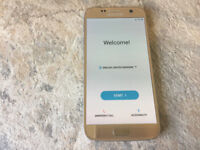 Samsung Galaxy S7 SM-G930F - 32GB - Gold (Unlocked) very good condition. boxed