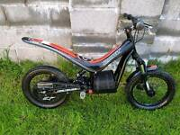 Oset 16 24volt 2012 kids trials bike