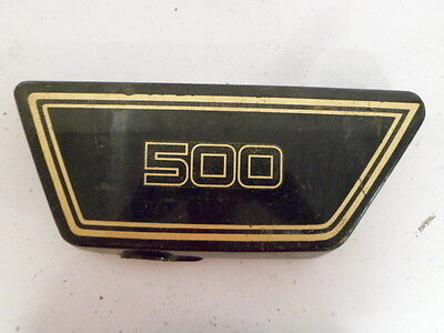 <em>YAMAHA</em> XS500 LEFT HAND SIDE COVER PANEL
