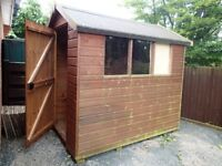 Garden shed 7ft x 5ft for sale