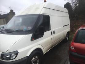 Ford transit 130 Lwb high top 2001