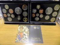 Two 2009 Kew Gardens 50p Coin Sets