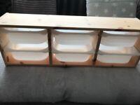 Ikea Trofast wall unit
